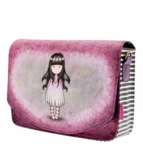 Santoro růžová kabelka Oops a Daisy