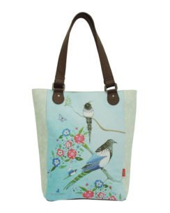 Santoro taška na nákupy Watercolour Birds