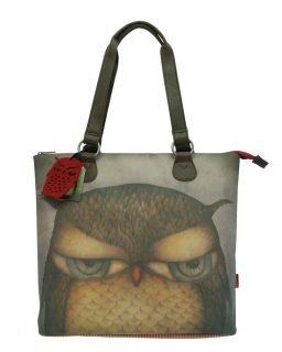 Santoro taška přes rameno Grumpy Owl